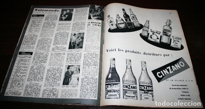 Cine: REVISTA CINÉMONDE - 27 DICIEMBRE 1956 - Nº 1168 - EN PORTADA: LOLA FLORES / LUIS MARIANO, EN FRANCÉS - Foto 4 - 94912931
