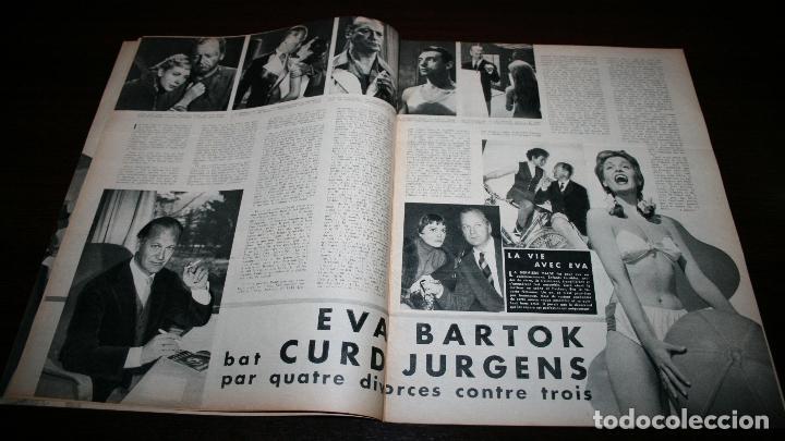 Cine: REVISTA CINÉMONDE - 6 DICIEMBRE 1956 - Nº 1165 - EN PORTADA: CURD JURGENS/EVA BARTOK - EN FRANCÉS - Foto 3 - 94913291
