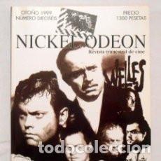 Cine: NICKEL ODEON. REVISTA TRIMESTRAL DE CINE. ORSON WELLES. NUMERO 16 OTOÑO 1999. Lote 94922251
