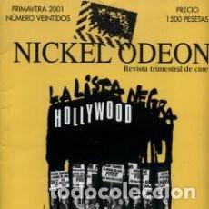 Cine: NICKEL ODEON Nº 22 (PRIMAVERA 2001): MCCARTHY Y LA INQUISICION EN EL CINE. Lote 94923915