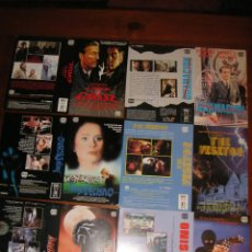 Cine: LOTE DE 11 CARÁTULAS DE VÍDEO (CBC FILMS) CARÁTULA VHS Y BETA - ALGUNA ES DE MAC. Lote 94944907