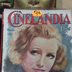 Cine: CINELANDIA. MARZO 1932. Lote 95013384