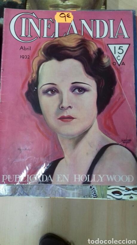 CINELANDIA. ABRIL 1932 (Cine - Revistas - Cinelandia)
