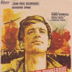 Cine: FIN DE SEMANA EN DUNKERQUE JEAN PAUL BELMONDO . Lote 95106687