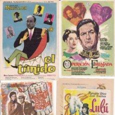 Cine: 5 PANFLETOS CINE ESPAÑOL TONY LEBLANC MARSILLACH MARUJITA DIAZ ETC.. Lote 95106811