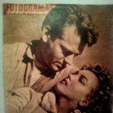 Cine: FOTOGRAMAS N°212 12/12/1952 • PORTADA MARILYN MONROE •. Lote 95432246