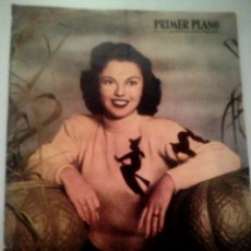Cine: PRIMER PLANO N•487 12/02/1950 • SHIRLEY TEMPLE • PORTADA INT. SARA MONTIEL AUTÓGRAFO. Lote 95635679