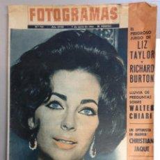 Cine: REVISTA FOTOGRAMAS Nº 758 - LIZ TAYLOR Y RICHARD BURTON. Lote 95806711