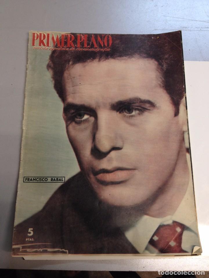 REVISTA PRIMER PLANO .Nº 915 FRANCISCO RABAL (Cine - Revistas - Primer plano)