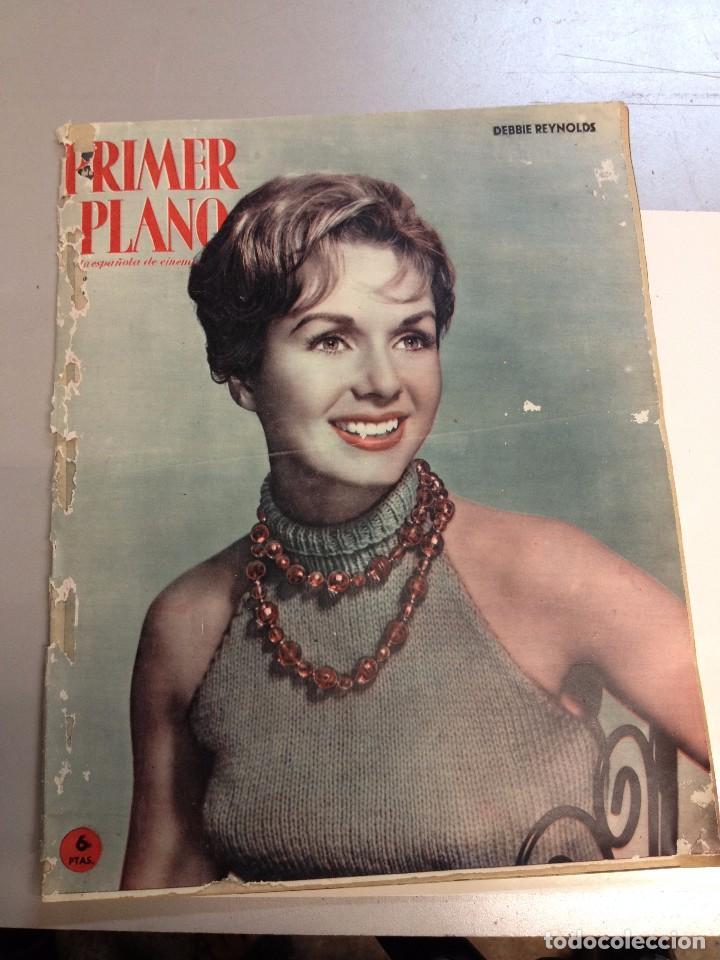 PRIMER PLANO Nº1008 DEBBIE REYNOLDS CONTRAPORTADA GARY COOPER Y CHARLTON HESTON (Cine - Revistas - Primer plano)