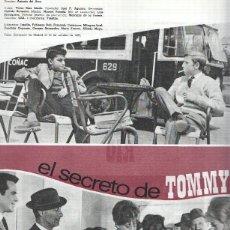 Cine: FICHA CINE SUEVIA FILMS: EL SECRETO DE TOMMY Y MARISOL RUMBO A RIO. Lote 95811063