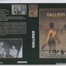 Cine: CARATULA CINE 30X22 CM: GALLEGO Y LA GRAN HUIDA. Lote 95821892