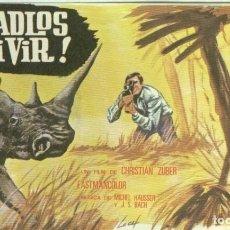 Cine: PROGRAMAS DE CINE: DEJADLOS VIVIR. Lote 95833139