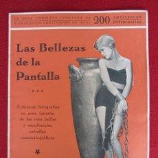 Cine: LAS BELLEZAS DE LA PANTALLA Nº 10. Lote 95898927