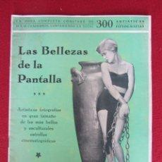 Cine: LAS BELLEZAS DE LA PANTALLA Nº 11. Lote 95899015