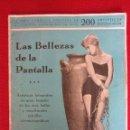 Cine: LAS BELLEZAS DE LA PANTALLA Nº 4. Lote 95899107