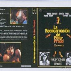 Cine: CARATULA CINE 30X22 CM: LA REENCARNACION DE PETER PROUND Y SNAKE EYES. Lote 95899594