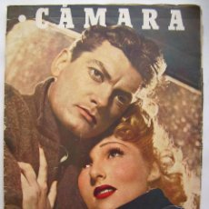 Cine: SARA MONTIEL Y DIANA DURBIN . REVISTA CÁMARA, DE 1946.. Lote 95908919