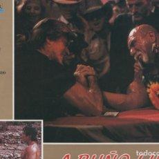 Cine: CARATULA PELICULA: A PUÑO LIMPIO, NUMERO 05. Lote 95917511