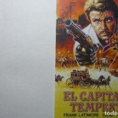 Cine: LAMINA EL CAPITAN TEMPESTAD . .-FRANK LATIMORE. Lote 95924691