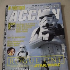 Cine: REVISTA ACCION 1609 ROGUE ONE STAR WARS LA HISTORIA INTERMINABLE LA NOVIA DE FRANKENSTEIN. Lote 95982083