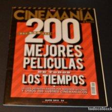 Cine: CINEMANIA - 200 MEJORES PELICULAS DE TODOS LOS TIEMPOS. Lote 96016663