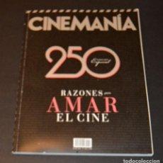 Cine: CINEMANIA - 250 RAZONES PARA AMAR EL CINE. Lote 96016743