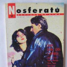 Cine: REVISTA DE CINE NOSFERATU Nº 9- JUNIO 1992. GARAY, GUERIN, JORDÁ Y PORTABELLA.. Lote 175892075