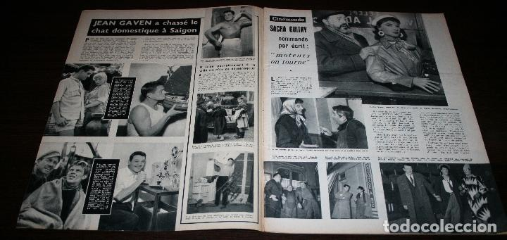 Cine: REVISTA CINÉMONDE - 31 ENERO 1957 - Nº 1173 - EN PORTADA: NICOLE MAUREY - EN FRANCÉS - Foto 2 - 96100407