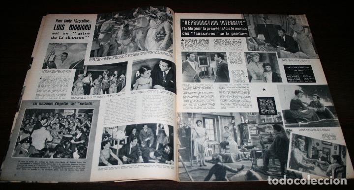 Cine: REVISTA CINÉMONDE - 31 ENERO 1957 - Nº 1173 - EN PORTADA: NICOLE MAUREY - EN FRANCÉS - Foto 3 - 96100407