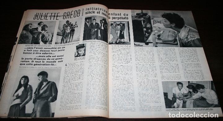 Cine: REVISTA CINÉMONDE - 31 ENERO 1957 - Nº 1173 - EN PORTADA: NICOLE MAUREY - EN FRANCÉS - Foto 4 - 96100407