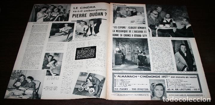 Cine: REVISTA CINÉMONDE - 24 ENERO 1957 - Nº 1172 - EN PORTADA: AVA GARDNER, DAVID NIVEN... - EN FRANCÉS - Foto 2 - 96100699