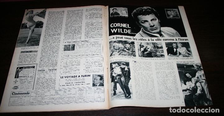 Cine: REVISTA CINÉMONDE - 24 ENERO 1957 - Nº 1172 - EN PORTADA: AVA GARDNER, DAVID NIVEN... - EN FRANCÉS - Foto 7 - 96100699