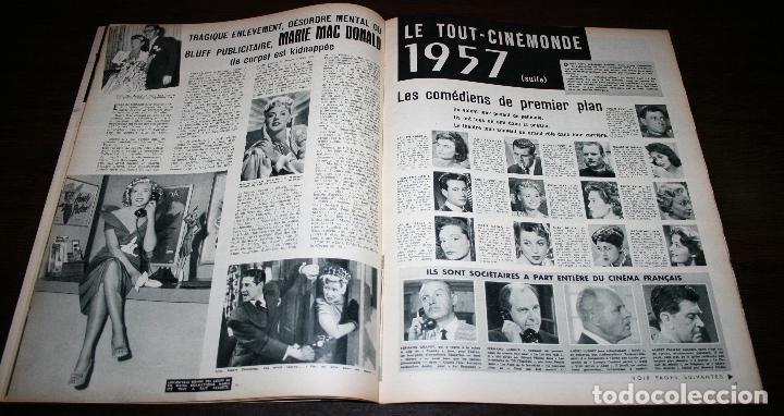 Cine: REVISTA CINÉMONDE - 17 ENERO 1957 - Nº 1171 - EN PORTADA: MICHELE MORGAN - EN FRANCÉS - Foto 4 - 96101175