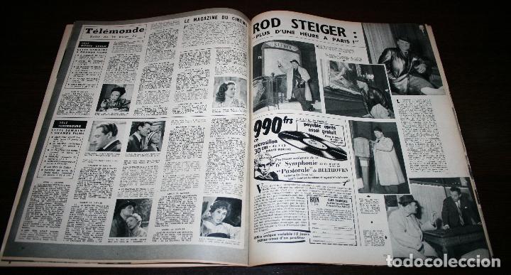 Cine: REVISTA CINÉMONDE - 17 ENERO 1957 - Nº 1171 - EN PORTADA: MICHELE MORGAN - EN FRANCÉS - Foto 6 - 96101175