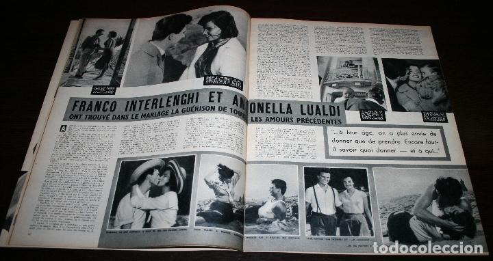 Cine: REVISTA CINÉMONDE - 10 ENERO 1957 - Nº 1170 - EN PORTADA: EDDIE CONSTANTINE, ZIZI... - EN FRANCÉS - Foto 3 - 96101607