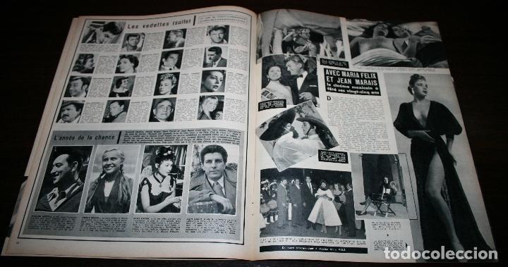 Cine: REVISTA CINÉMONDE - 10 ENERO 1957 - Nº 1170 - EN PORTADA: EDDIE CONSTANTINE, ZIZI... - EN FRANCÉS - Foto 4 - 96101607