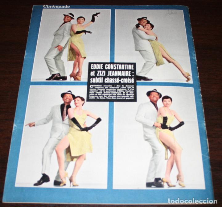 Cine: REVISTA CINÉMONDE - 10 ENERO 1957 - Nº 1170 - EN PORTADA: EDDIE CONSTANTINE, ZIZI... - EN FRANCÉS - Foto 5 - 96101607