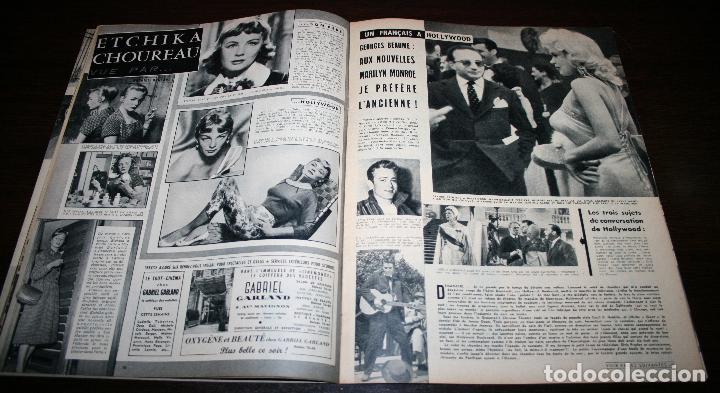 Cine: REVISTA CINÉMONDE - 7 FEBRERO 1957 - Nº 1174 - EN PORTADA: AUDREY HEPBURN - EN FRANCÉS - Foto 3 - 96107227