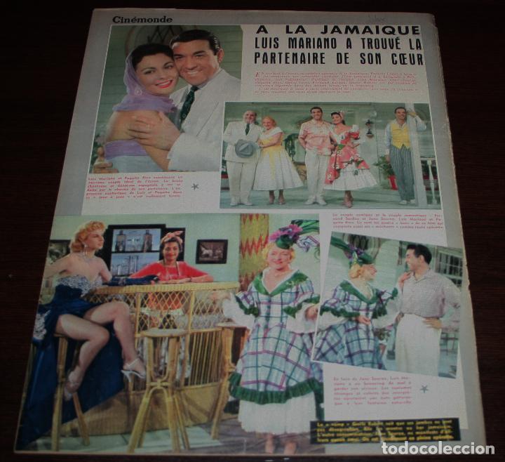 Cine: REVISTA CINÉMONDE - 7 FEBRERO 1957 - Nº 1174 - EN PORTADA: AUDREY HEPBURN - EN FRANCÉS - Foto 5 - 96107227