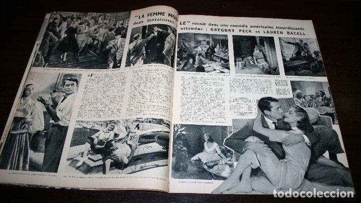 Cine: REVISTA CINÉMONDE - 28 MARZO 1957 - Nº 1181 - EN PORTADA: LAUREN BACALL, GREGORY PECK - EN FRANCÉS - Foto 3 - 96107591