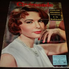 Cine: REVISTA CINÉMONDE - 14 MARZO 1957 - Nº 1179 - EN PORTADA: FRANÇOISE ARNOUL - EN FRANCÉS. Lote 96108215