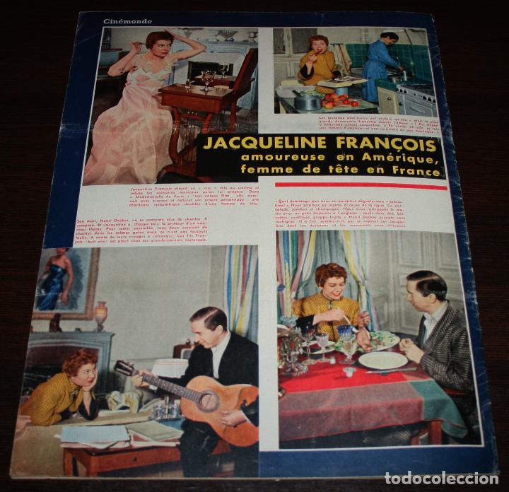 Cine: REVISTA CINÉMONDE - 7 MARZO 1957 - Nº 1178 - EN PORTADA: JAYNE MANSFIELD - EN FRANCÉS - Foto 7 - 96108587