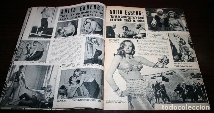 Cine: REVISTA CINÉMONDE - 11 ABRIL 1957 - Nº 1183 - EN PORTADA: MARLON BRANDO, MACHIKO KYO - EN FRANCÉS - Foto 3 - 96108835