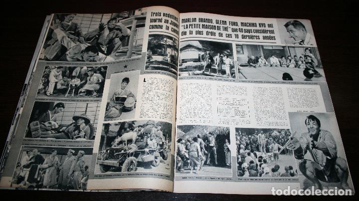 Cine: REVISTA CINÉMONDE - 11 ABRIL 1957 - Nº 1183 - EN PORTADA: MARLON BRANDO, MACHIKO KYO - EN FRANCÉS - Foto 4 - 96108835