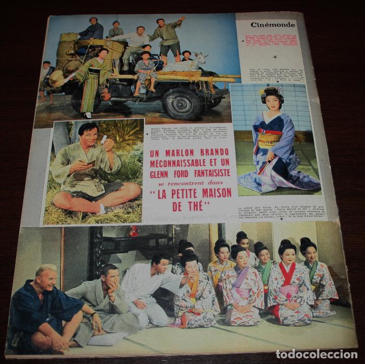 Cine: REVISTA CINÉMONDE - 11 ABRIL 1957 - Nº 1183 - EN PORTADA: MARLON BRANDO, MACHIKO KYO - EN FRANCÉS - Foto 6 - 96108835