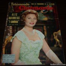 Cine: REVISTA CINÉMONDE - 5 JUNIO 1958 - Nº 1243 - EN PORTADA: MICHELE MORGAN - EN FRANCÉS. Lote 96109055