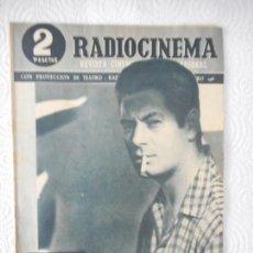 Cine: RADIOCINEMA Nº 198 - 8-5-1954-. PORTADA JOSÉ SUÁREZ. SIERRA MALDITA. AURORA BAUTISTA. Lote 96174943