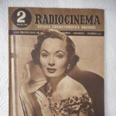 Cinéma: RADIOCINEMA Nº 200 - 22-5-1954-. PORTADA ANN BLYTH. ANTONIO BOFARULL. ANA MARISCAL SILVANA PAMPANINI. Lote 96175291