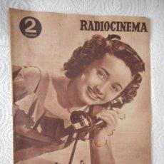 Cine: RADIOCINEMA Nº 209 - 24-7-1954-. PORTADA JANE POWELL. CONTRAPORTADA TOM D'ANDREA. Lote 152579677